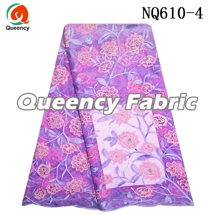 Tulle Nigeria Lace Fabric