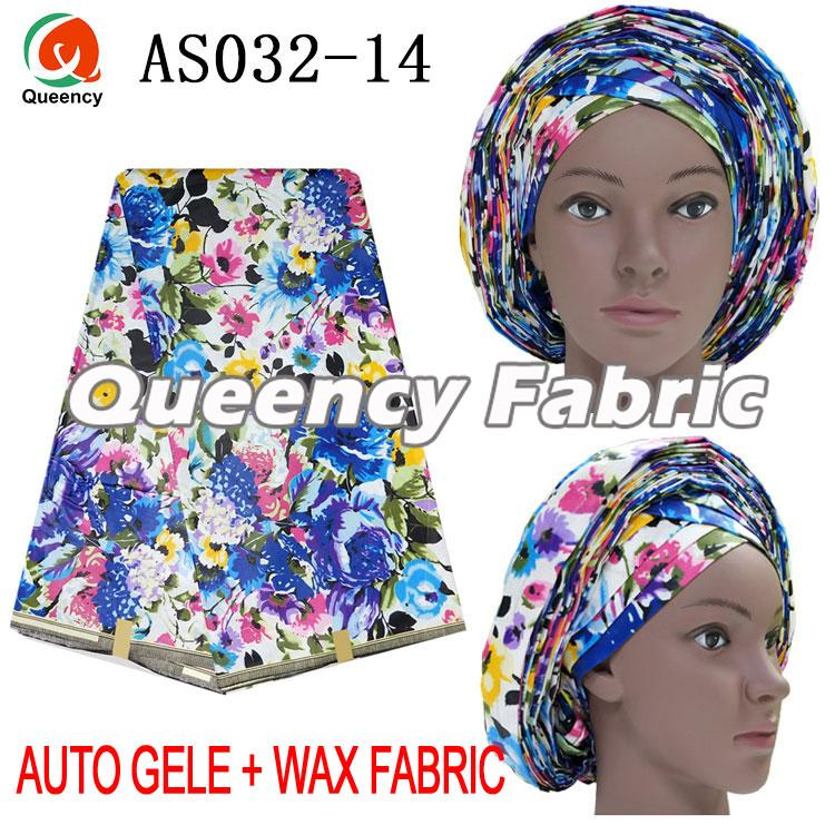 Ankara Auto Gele Headtie Match Wax