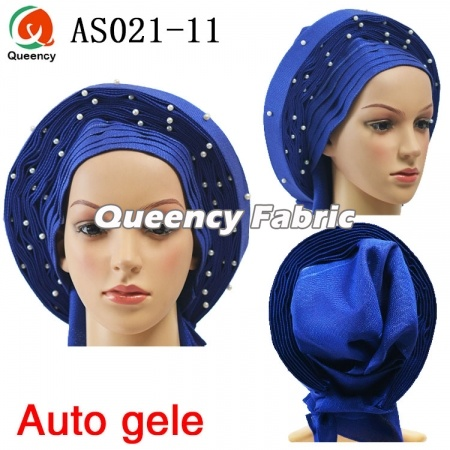 African Auto Gele Already Made Headtie