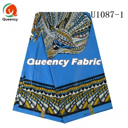 queency african cotton wax animal imprime material diy